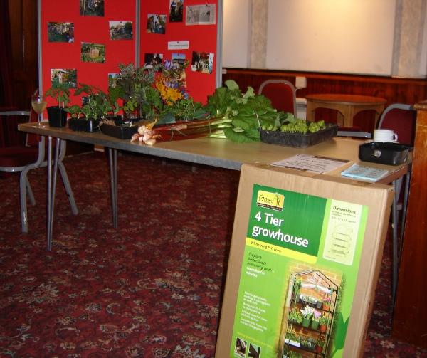 Portable green house raffle prize