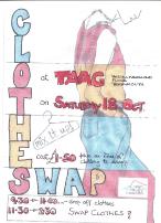 Clothes Swap leaflet Oct14