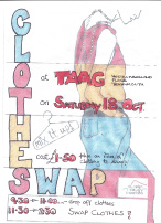 Clothes Swap leaflet Oct14